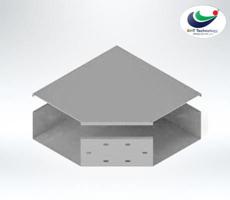 Horizoltal Elbow for Cable trunking