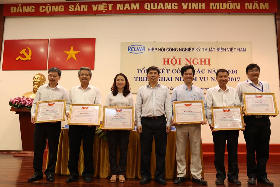 BHT Technology HONORED TO RECEIVE THE CERTIFICATE OF VIETNAM ELECTRICITY INDUSTRY  ASSOCIATION