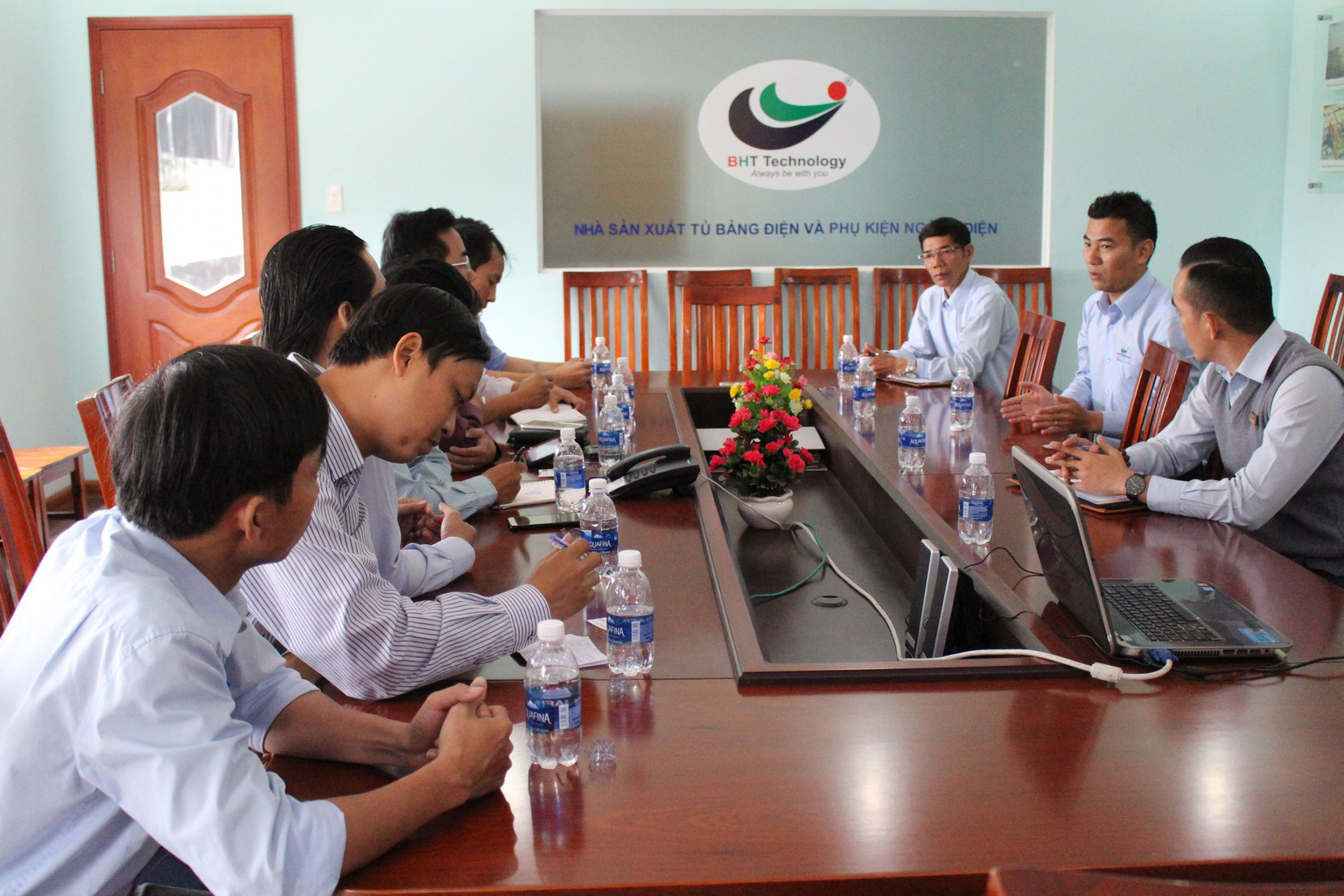 NGUYEN TAT THANH UNIVERSITY  VISITED BHT Technology FACTORY