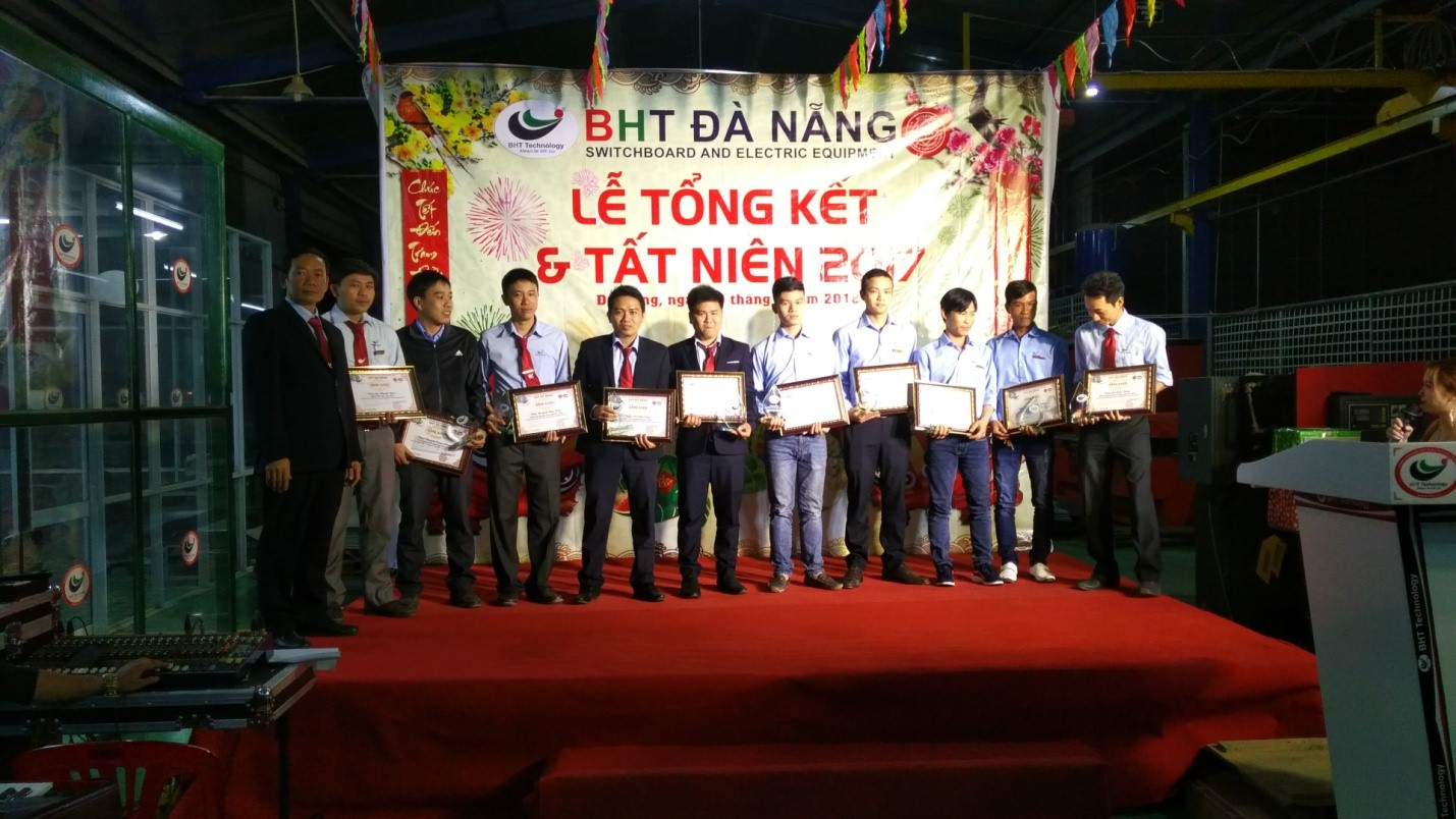 BHT Da Nang held The end-year 2018 Party