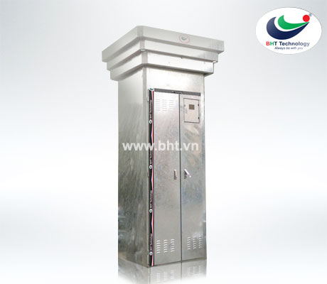 Pillar of transformer with RMU 1000x1000x3100